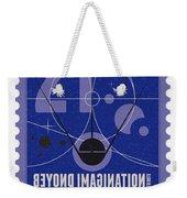 Starschips 21- Poststamp - Sputnik 2 Weekender Tote Bag