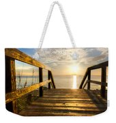 Start Of The Day Weekender Tote Bag