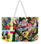 Wiping Out The Language Of Amalek 9dbk Weekender Tote Bag