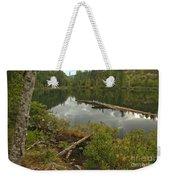 Starvation Lake - British Columbia Weekender Tote Bag