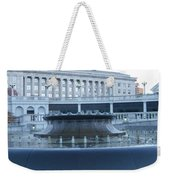 State Capital Fountain Weekender Tote Bag