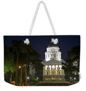 State Capitol At Night Sacramento Weekender Tote Bag