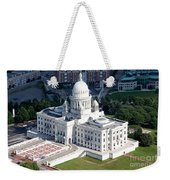 State Capitol Buildng Providence Rhode Island Weekender Tote Bag