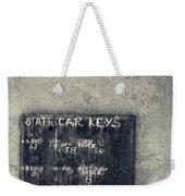 State Car Keys Weekender Tote Bag