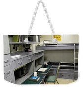 State Room Aboard Battleship Uss Weekender Tote Bag