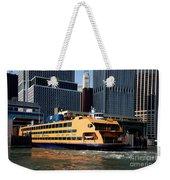 Staten Island Ferry Weekender Tote Bag