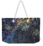States Of Mind    Those Who Go Weekender Tote Bag