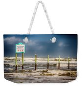 Stating The Obvious Weekender Tote Bag