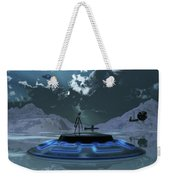 Station 211 Alien Nazi Base Located Weekender Tote Bag