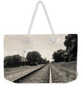Station In The Distance Weekender Tote Bag