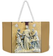 Station Of The Cross 10 Weekender Tote Bag