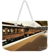 Station Weekender Tote Bag