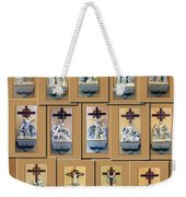 Stations Of The Cross Collage Weekender Tote Bag