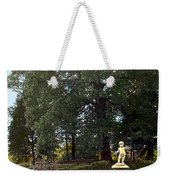 Statue And Tree Weekender Tote Bag