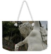 Statue At Biltmore Estate Weekender Tote Bag