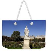 Statue At The Jardin Des Tuileries In Paris France Weekender Tote Bag
