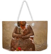 Statue From Mission San Juan Capistrano Weekender Tote Bag