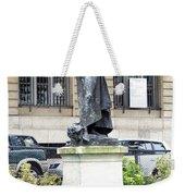 Statue In A Paris Park Weekender Tote Bag