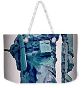 Statue Of An Old Revolutionary Cuban Weekender Tote Bag