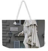 Statue Of Carlo Goldoni Weekender Tote Bag