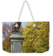 Statue Of Daniel Webster - Central Park Weekender Tote Bag
