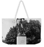 Statue Of David Delaware Park Buffalo Ny Weekender Tote Bag