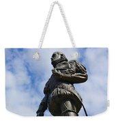 Statue Of Don Pedro Menendez De Aviles Weekender Tote Bag