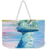 Statue Of Liberty - The Torch Weekender Tote Bag