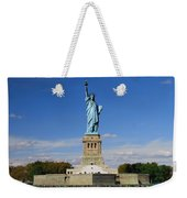 Statue Of Liberty Tourism Weekender Tote Bag