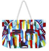 Statue Of Liberty With Colors Weekender Tote Bag