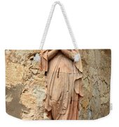 Statue Of Mary In Mission Garden Weekender Tote Bag