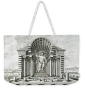 Statue Of Olympian Zeus Weekender Tote Bag