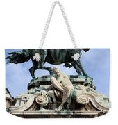 Statue Of Prince Eugene Of Savoy In Budapest Weekender Tote Bag