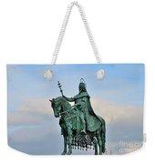 Statue Of St Stephen Hungary King Weekender Tote Bag