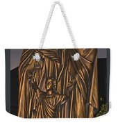 Statue Of The Holy Family  Weekender Tote Bag