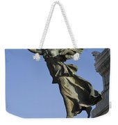 Statue On The Tomb Of The Unknown Soldier Weekender Tote Bag