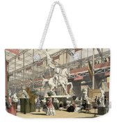 Statues In The Belgium Section Weekender Tote Bag