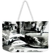Ste Marie Du Lac Pond And Parish Weekender Tote Bag