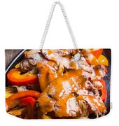Steak Fajitas Weekender Tote Bag