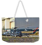 Stealth Air Attack Helicopter Weekender Tote Bag