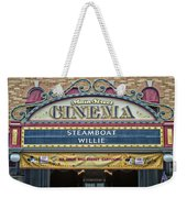 Steam Boat Willie Signage Main Street Disneyland 01 Weekender Tote Bag