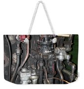 Steam Engine Controls Weekender Tote Bag
