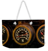 Steam Engine Gauge Weekender Tote Bag