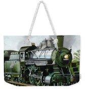 Steam Engine Locomotive Weekender Tote Bag