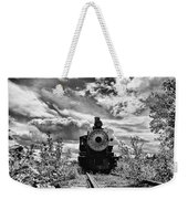 Steam Engine Weekender Tote Bag