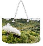 Steam Engine On Glenfinnan Viaduct Weekender Tote Bag