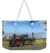 Steam Farming Weekender Tote Bag