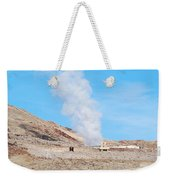 Steam From Earth Weekender Tote Bag