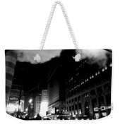 Steam Heat - New York At Night Weekender Tote Bag