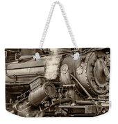 Steam Power Sepia Weekender Tote Bag